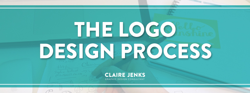 The Logo Design Process-by Claire Jenks Design