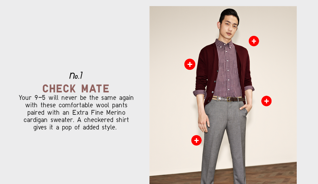 UNIQLO interactive brochure example