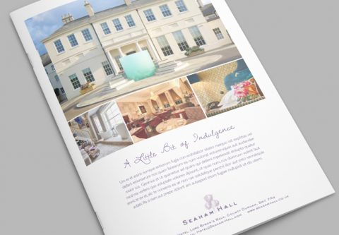 Claire Jenks Design: Seaham Hall Advertising