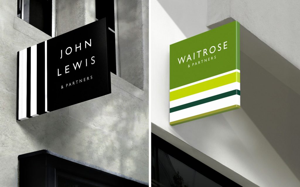 John Lewis and Waitrose Rebrand 2018