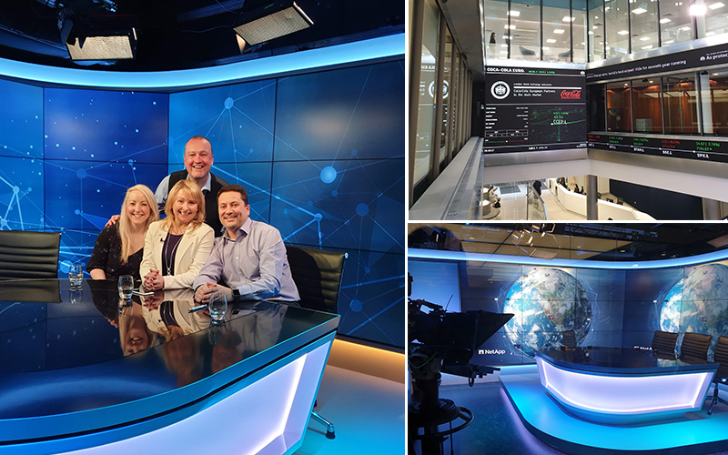 The London Stock Exchange - Avast Business Live Video Webinar with host Richard Tubb - Claire Jenks
