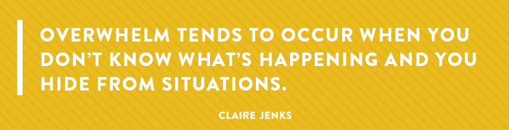Inner Workings S1 Ep2- How to Relieve Overwhelm Pain - Project Management Systems by Claire Jenks Design-2