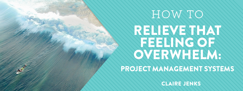 Inner Workings S1 Ep2- How to Relieve Overwhelm Pain - Project Management Systems by Claire Jenks Design