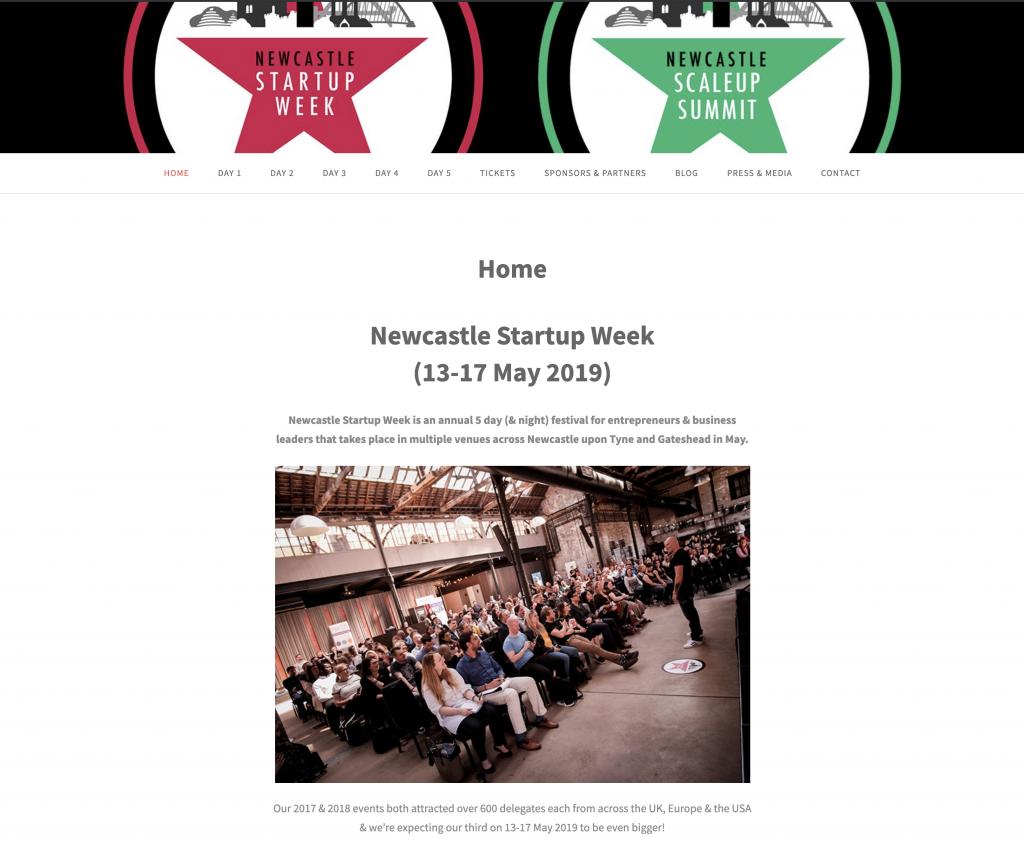 Newcastle Start Up Week 2019 - Claire Jenks Studio Stories