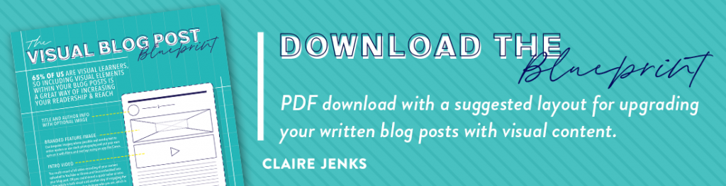 The Visual Blog Post Blueprint-Claire Jenks-download